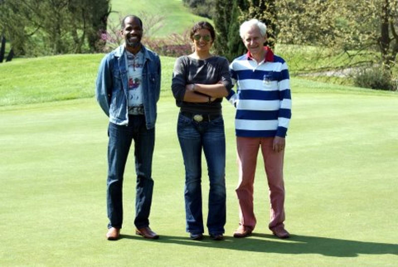 Tournoi de golf à Nice le 18 avril 2010