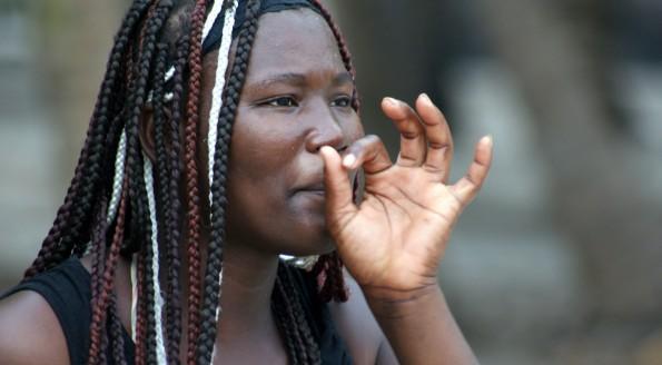 Les femmes en Haïti , photos de RenéH LE MAUGUEN
