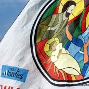 La ville de Nantes représentée sur Pierre Le Nantais en Haïti
