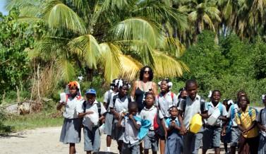 Haïti : l'île à vache, un anniversaire pas comme les autres pour Mélinda WILSON