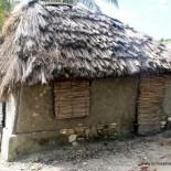 Quelques habitations sur l'île à Vache